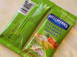 Tatárska omáčka Hellmanns
