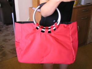 Nákupná taška Lidl červená