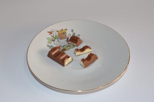 Prierez Kinder čokolády Ferrero