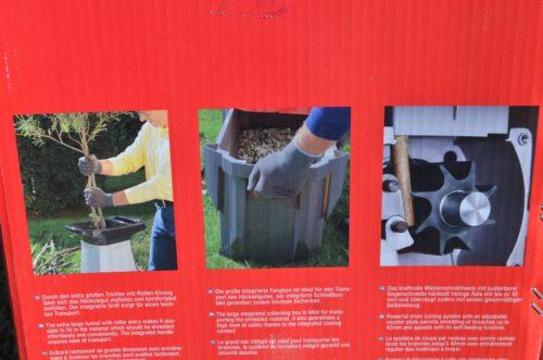 drvič záhradného odpadu