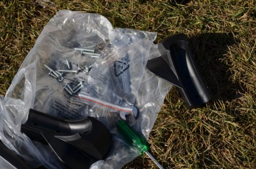 skrutyk drviča záhradného odpadu